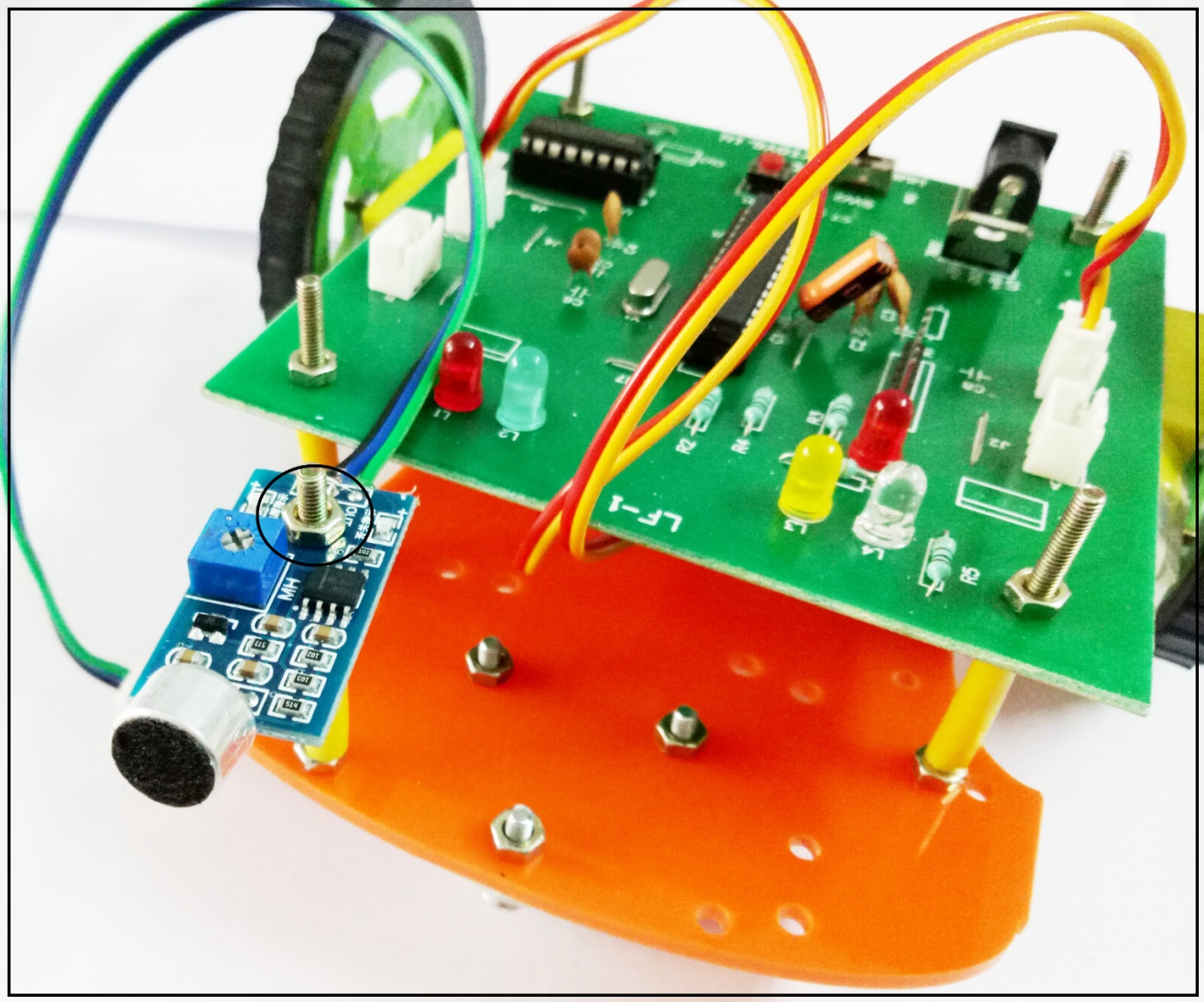 Sound based Activated Robot