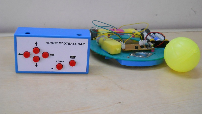 Football Playing Robot